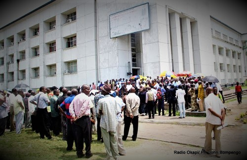 Intersyndicale Adm Publique RDC