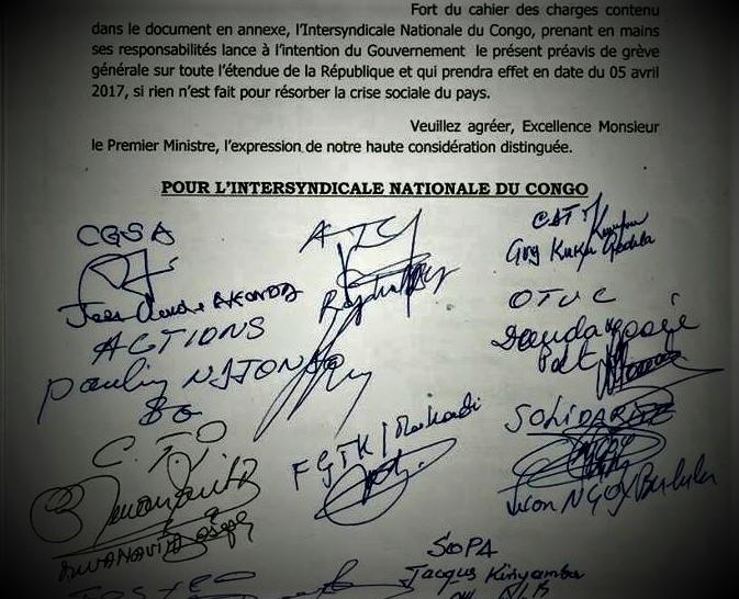 RDC : Grève des agents de l'Etat, l'Intersyndicale divisée ! 1