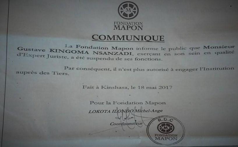 RDC : Bonne Gouvernance oblige, Matata Ponyo fait coffrer un avocat à Kinshasa et le Barreau dénonce l'arbitraire