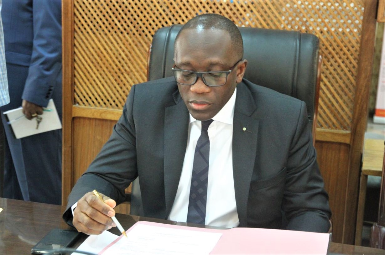 RDC : José Sele, Directeur Général des impôts a inspecté les opérations de l'échéance fiscal