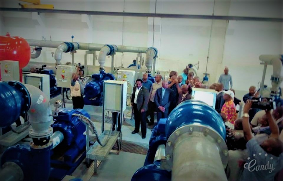 RDC : Joseph Kabila inaugure l'usine de captage d'eau de Tshikapa