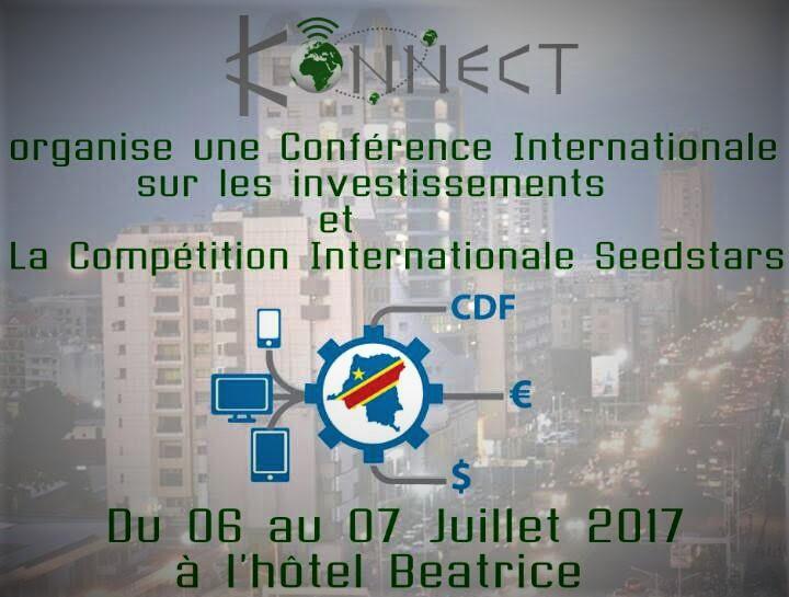 RDC : Kinshasa abrite le 1er Sommet International sur l'Economie Numérique du 6 au 7 Juillet 2017