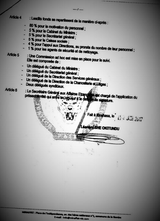 Arreté Ministériel portant Instauration d'un bonus de 10$ sur le prix du passeport p3 @Zoom_eco