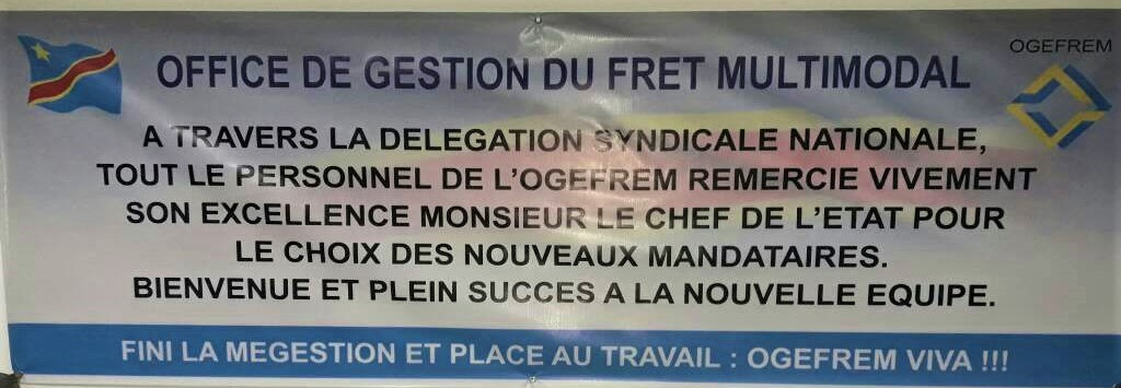 OGEFREM remercie Kabila