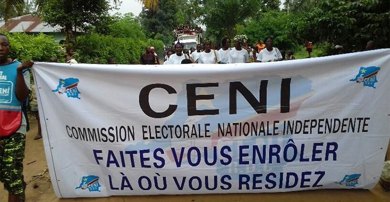 RDC : La CENI a déjà perçue l'enveloppe totale des fonds pour la révision du fichier électoral
