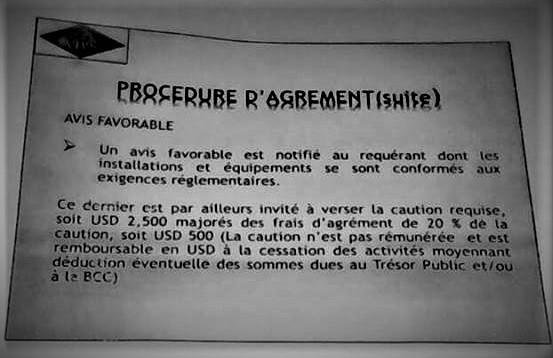 RDC : Le cambisme ne peut se pratiquer que dans un bureau de change [Document Exclusif]