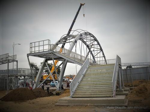 Kinshasa : Bientôt, la Tshangu aura ses 4 passerelles d'une valeur de 7,7 millions USD !