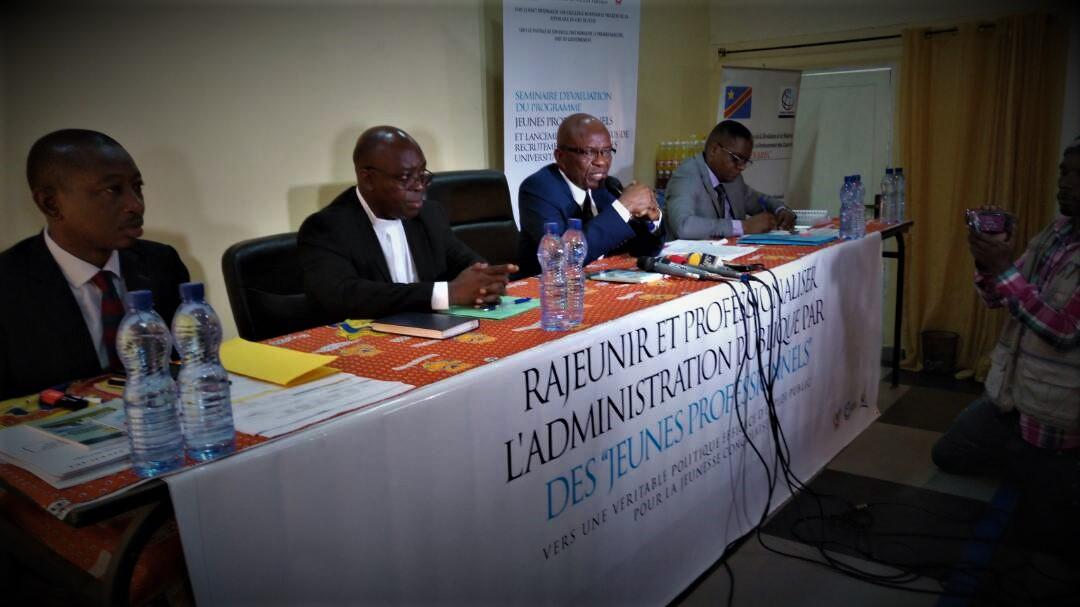RDC : Programme «Jeunes Professionnels», Michel Bongongo poursuit la sensibilisation à l'UCC