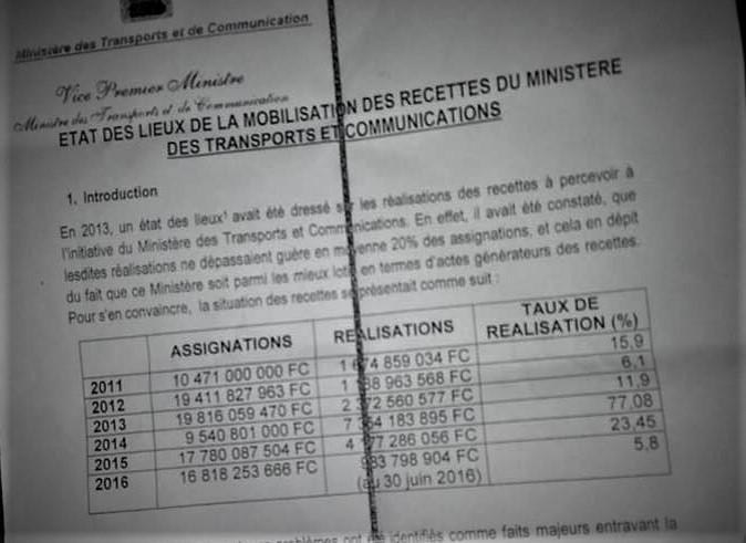 RDC : Le trafic des faux permis de conduire ronge les recettes du Ministère des Transports