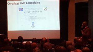 RDC : Bienvenu Liyota lance le processus de certification des PME 1