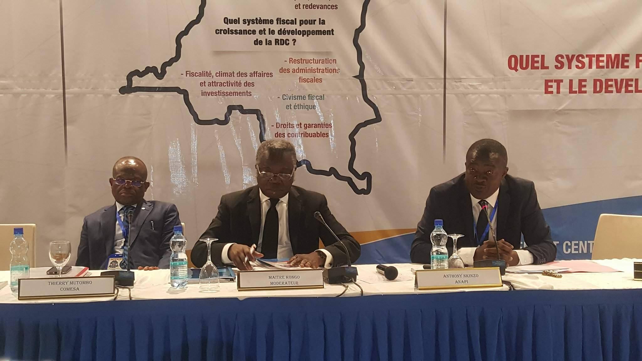 Sénateur Nkongo Budina Nzau Panel @Zoom_eco