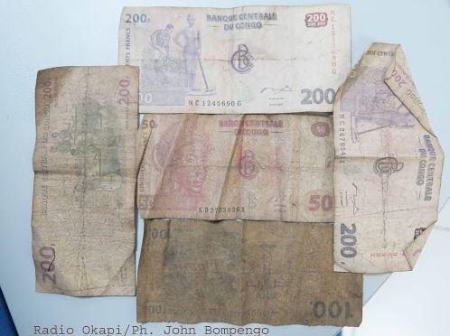 Kinshasa: Franc congolais, pourquoi les petites coupures sont rares?