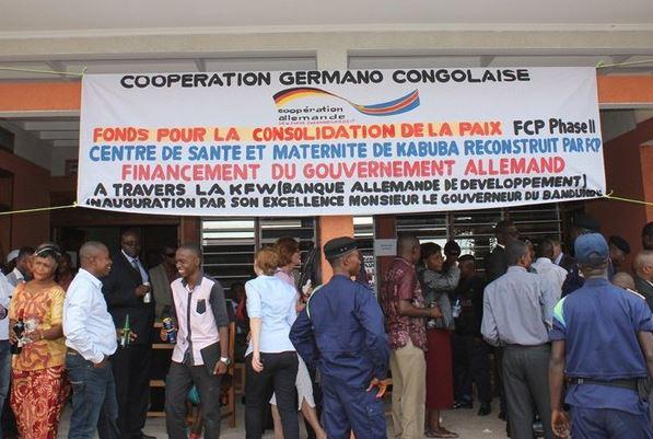 RDC : Fonds pour la Consolidation de la Paix, 70 millions d'euros financés en 2 phases !