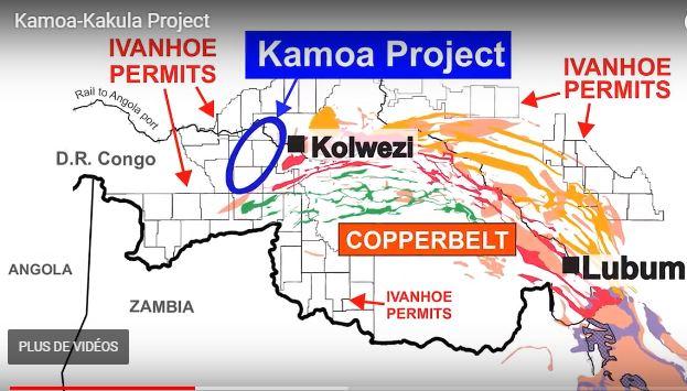 Le gisement Kamoa-Kakula, situé dans la province de Lualaba, contient environs 1 milliard de tonnes de minerais de cuivre. Son exploitation va produire autour de 31 millions de tonnes de cuivre métal dans les prochaines années. Guy Nzuru, Gérant d'Ivanhoe Mines DRC, l'a confirmé lors de son intervention à Radio Okapi ce vendredi 20 Octobre 2017. A lui de préciser qu'il s'agit de l'un des plus grands gisements au monde de cuivre de haute teneur jamais découvert et ni développé.