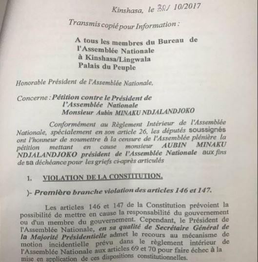 RDC: Aubin Minaku est-il complice de la mauvaise gestion des finances publiques? 10