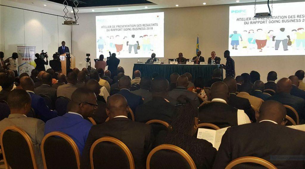 RDC: L'ANAPI restitue les résultats du Rapport Doing Business 2018 2