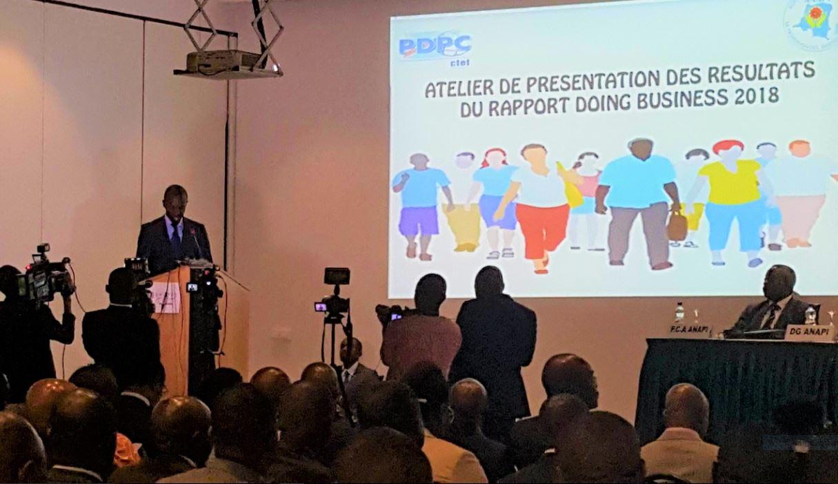 Anthony Nkinzo: « Que Doing Business 2018 incite en nous plus de détermination» 1