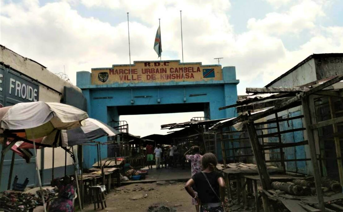 RDC : Marché Gambela, l'illustration de la paralysie d'activités ce jeudi à Kinshasa !