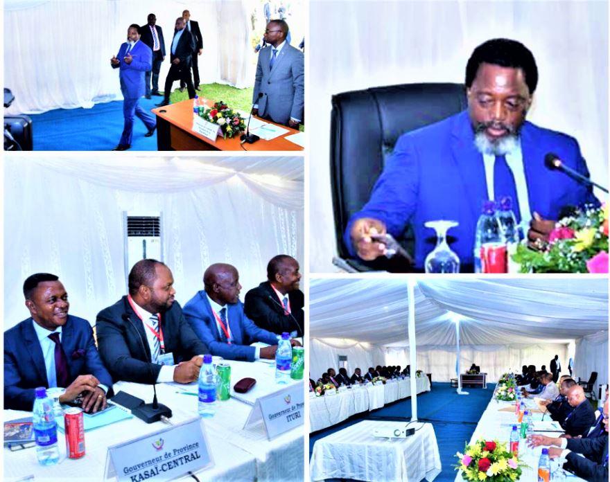 RDC : Voici le compte - rendu de la 6ème Conférence de Gouverneurs !