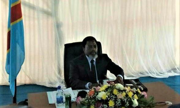 Conférence de Gouverneurs 2017 à Goma JKK @Zoom_eco