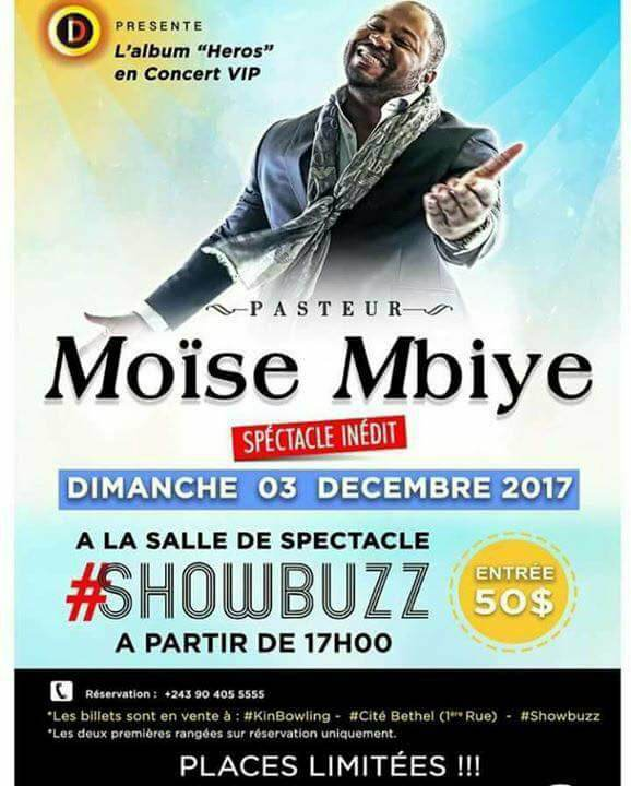 Moise Mbiye ShowBuzz