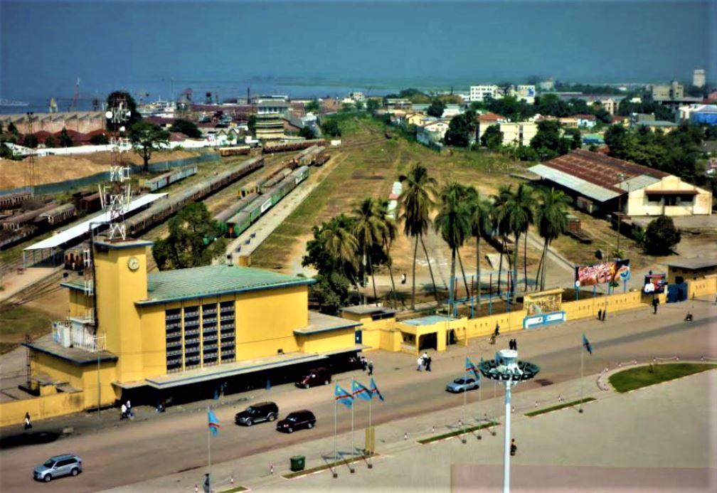 Gare Centrale Kinshasa @Zoom_eco