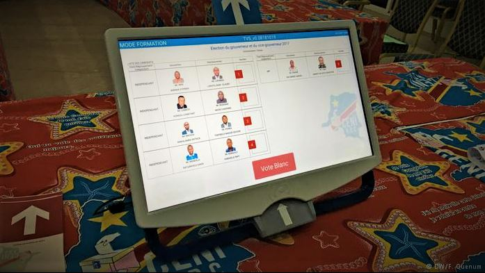 Machine à voter