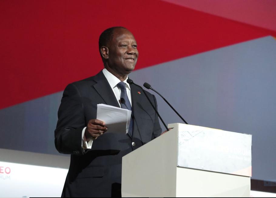Alassane Ouattara: «le secteur privé doit être le moteur de la croissance en Afrique» 1