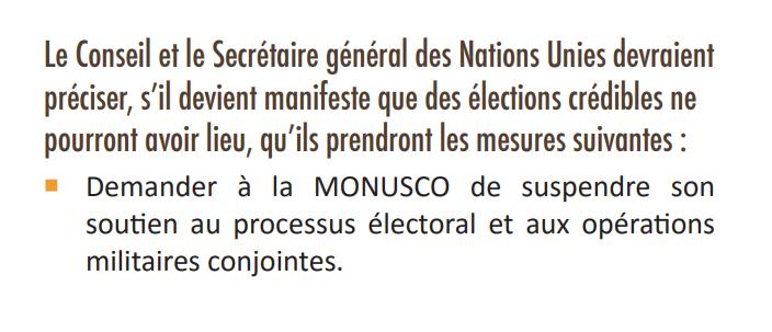 RDC: d'après GEC, la tenue d'élections crédibles devrait être la priorité de la MONUSCO! 3