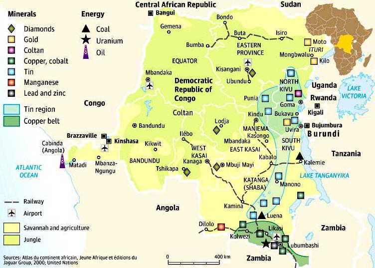 RDC : une histoire minière marquée par quatre divergences ! 2