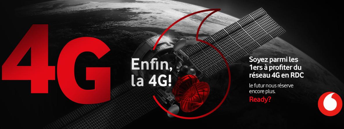 RDC : Vodacom lance le premier réseau 4G ! 12