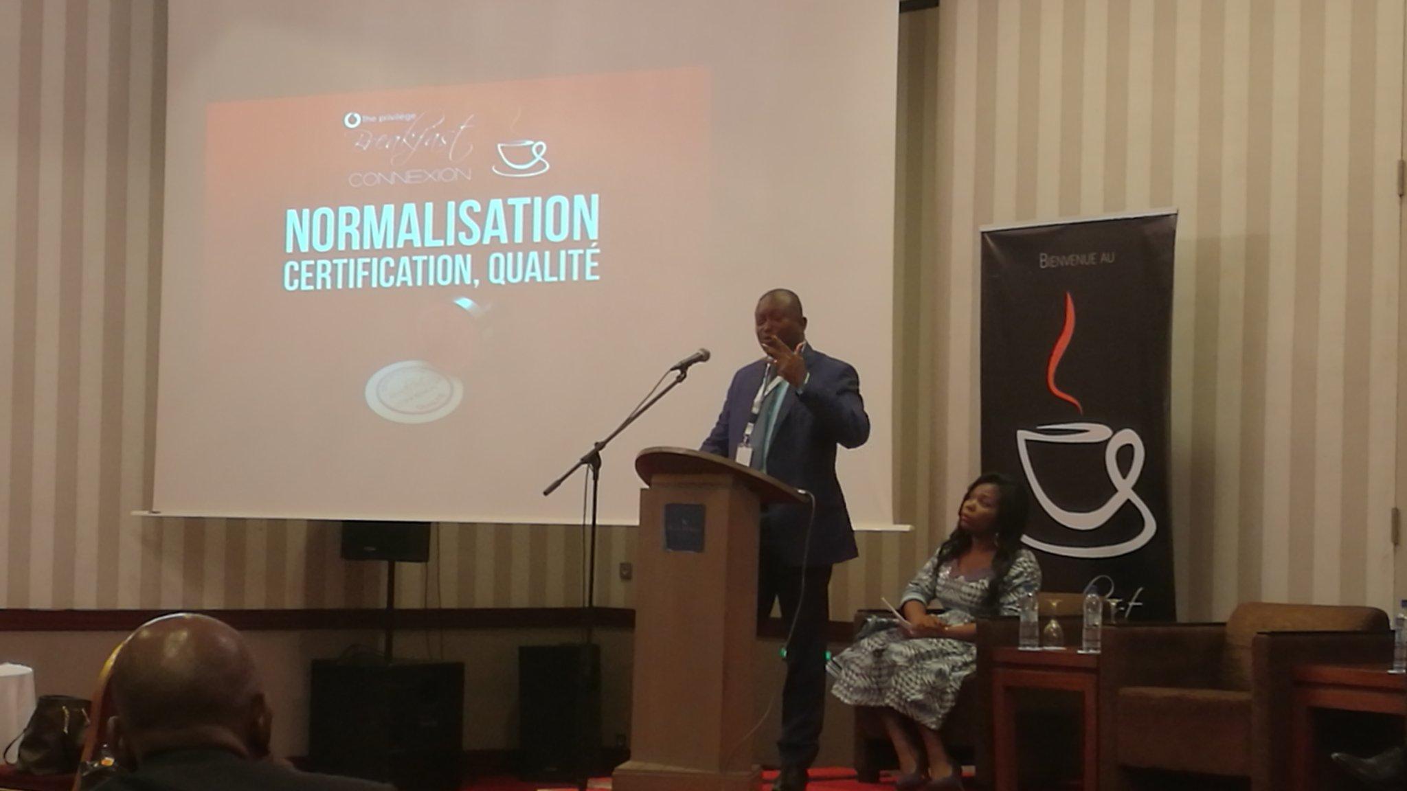 """RDC : Breakfast connexion se penche sur la """"normalisation, certification et qualité"""" ! 1"""