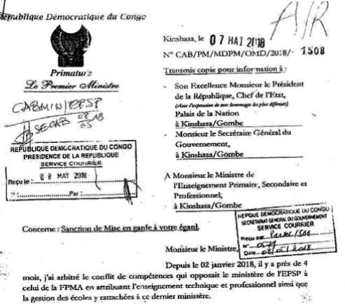"""RDC : Tshibala sanctionne l'indiscipline """"caractérisée"""" de Gaston Musemena ! 15"""