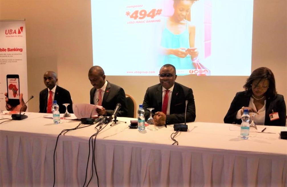 """RDC : l'UBA lance le service """"Ussd magic banking"""" et son application mobile ! 12"""