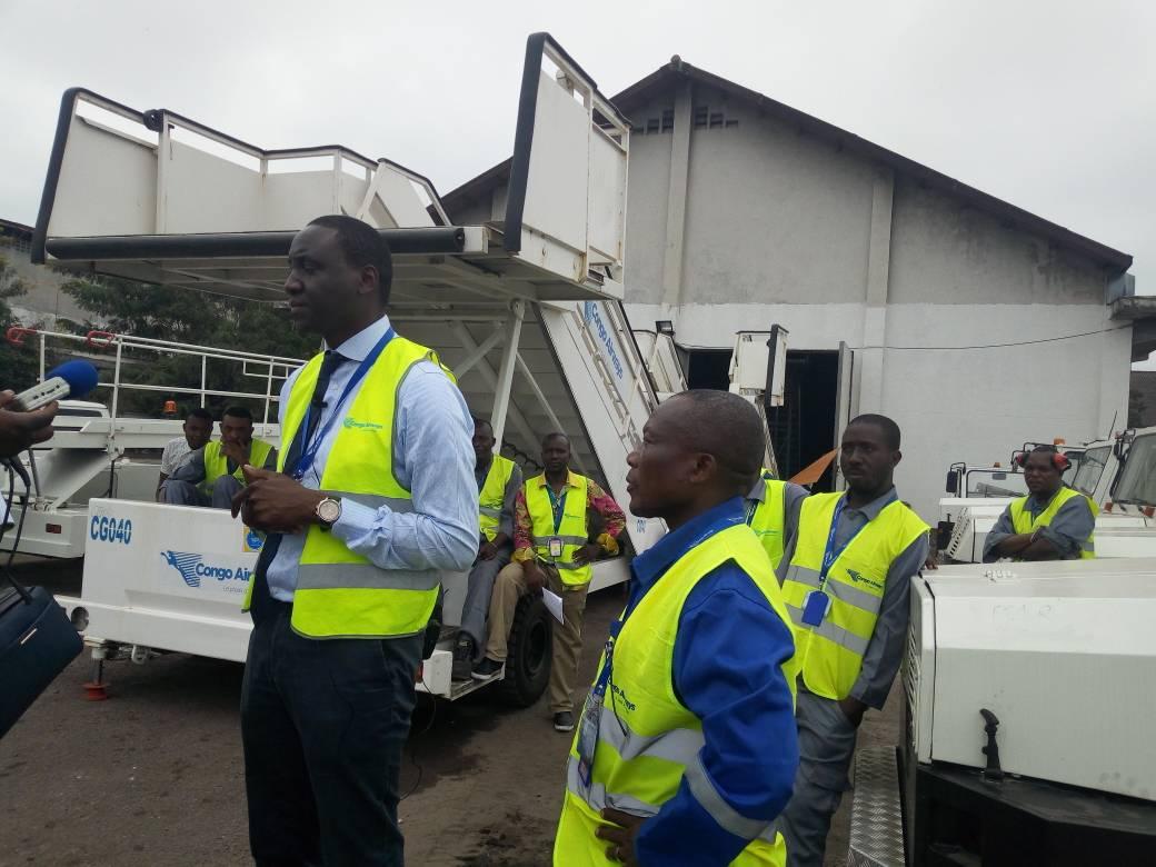 RDC : Congo Airways se dote des matériels d'assistance au sol! 2