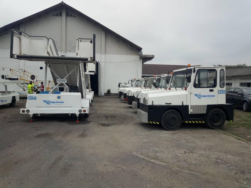 RDC : Congo Airways se dote des matériels d'assistance au sol! 1