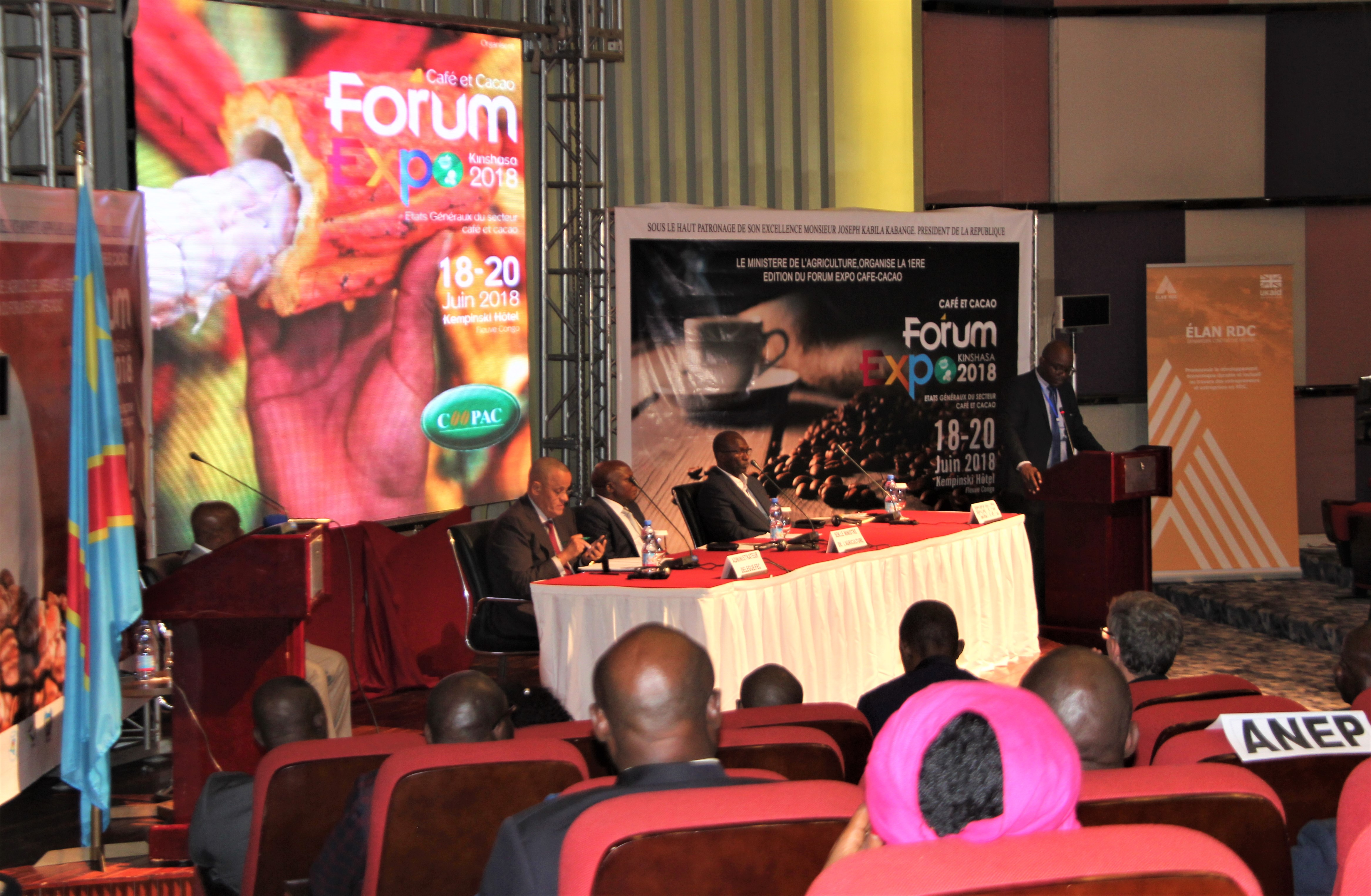 RDC: Forum Expo café-cacao, voici les recommandations sériées en quatre axes! 1