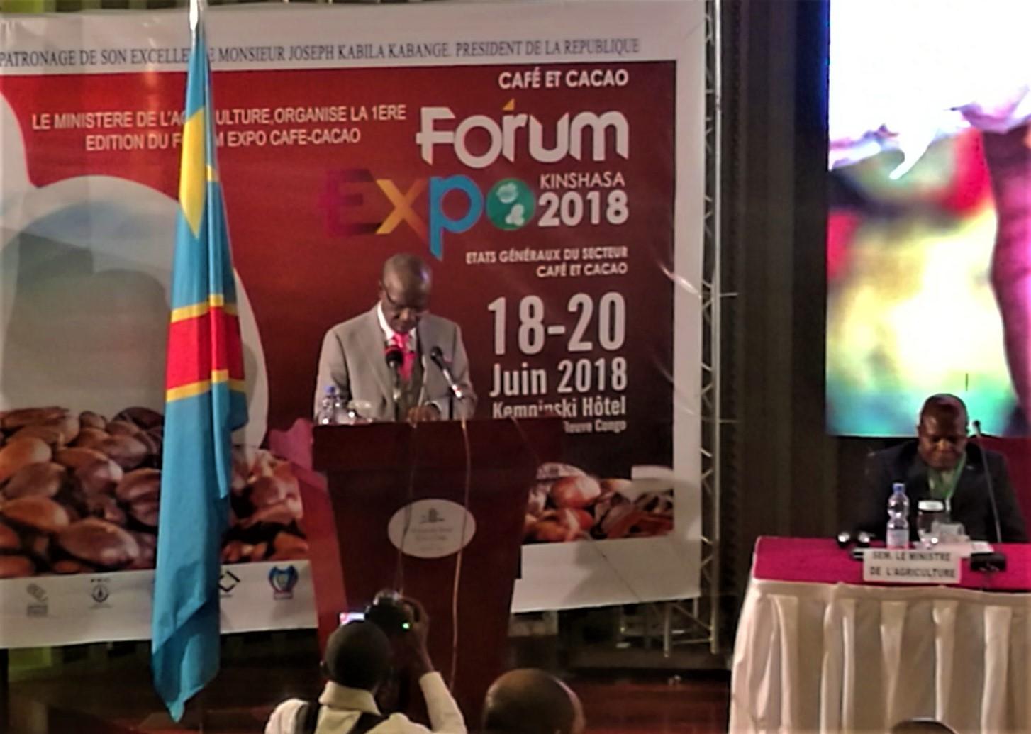 RDC: Forum Expo Café-Cacao, la FEC attend sept résultats concrets ! 1