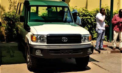 RDC : règlement d'un sinistre, SONAS remet un véhicule neuf à la DGDA ! 22