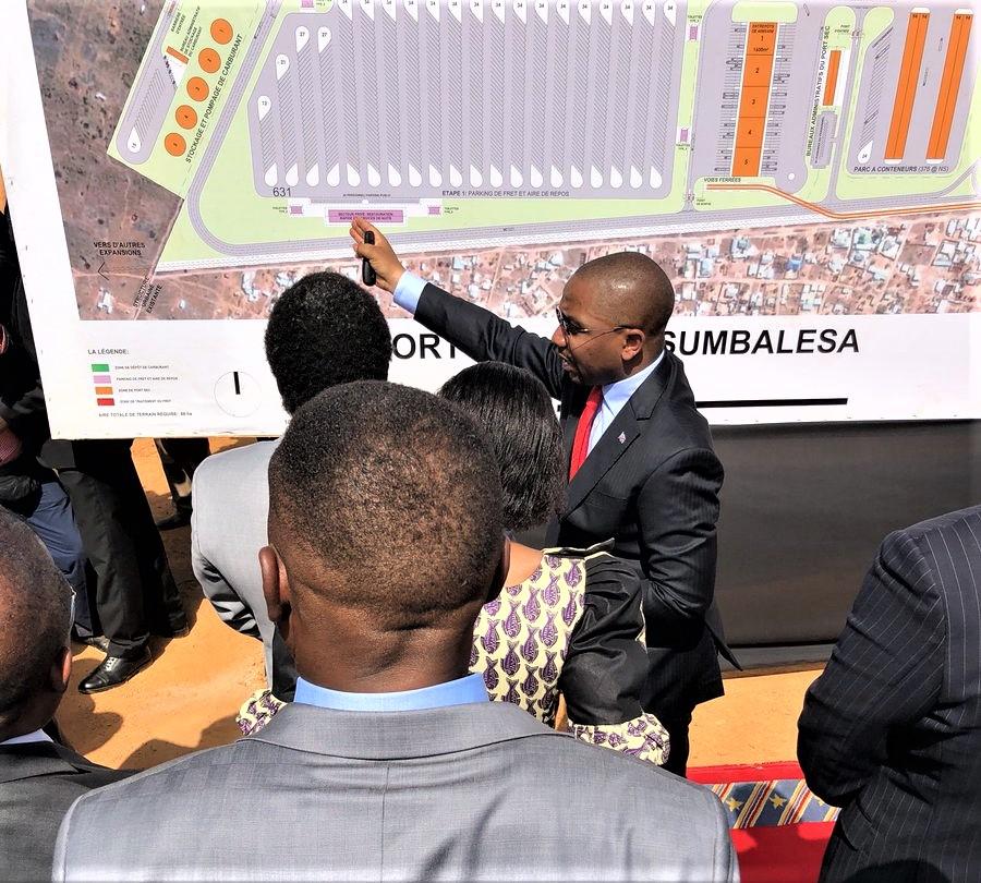 Patient Saiba: «le port sec de Kasumbalesa sera un véritable hub d'affaires» 1