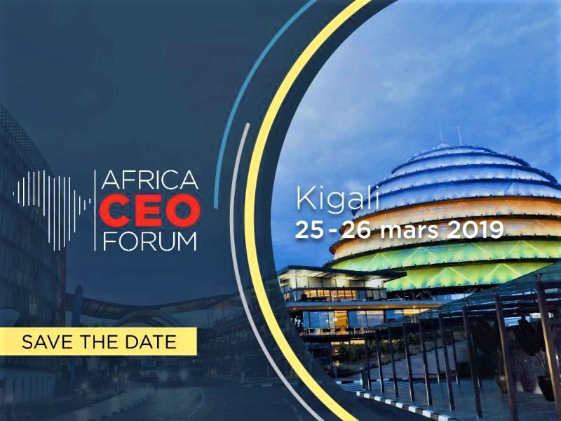 Monde : Kigali abritera l'édition 2019 du AFRICA CEO FORUM 1