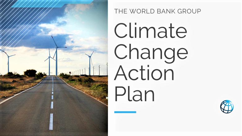 La Banque mondiale dépasse de 5% son objectif des financements climatiques 1