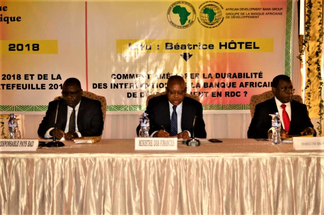RDC : la performance du portefeuille-projets de la BAD jugée moyenne 1