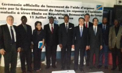 RDC : le Japon lance trois projets pour renforcer la lutte contre Ebola 21