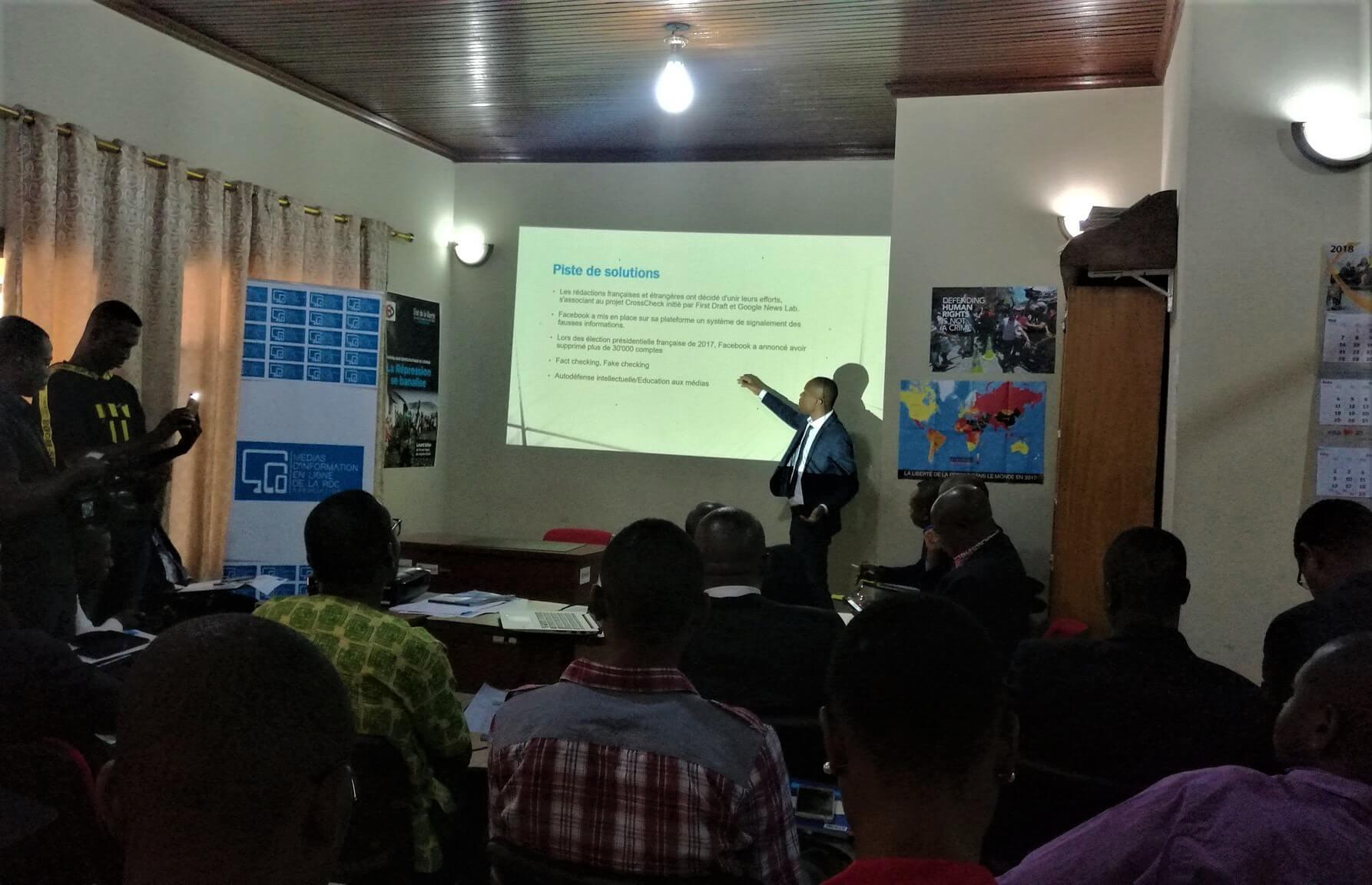 RDC: l'essentiel des conclusions de la table ronde sur les Fake news! 1