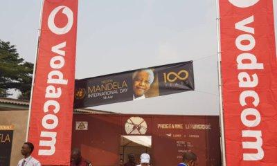 RDC: Vodacom Congo a célébré l'héritage de Nelson Mandela à travers le pays 3