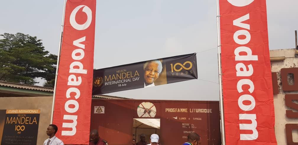 RDC: Vodacom Congo a célébré l'héritage de Nelson Mandela à travers le pays 1