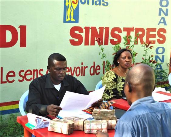 RDC : la SONAS indemnise 788 sinistres en juillet 2018 1