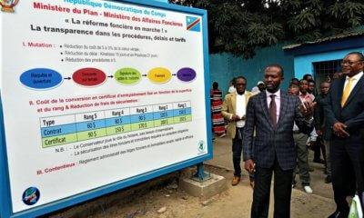 RDC : l'ANAPI entame l'affichage public de la procédure de transfert de propriété à Kinshasa 1
