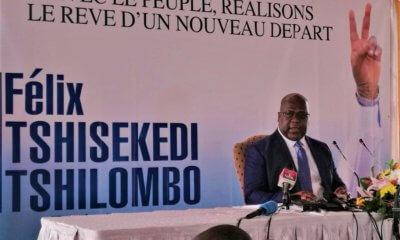 RDC: les trois chiffres-clés du programme de gouvernance de Felix Tshisekedi 24